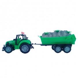 Tractor cu remorca - pamant