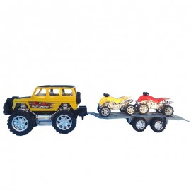 Masina cu remorca - ATV-uri