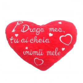 Inima plus dedicatie dragoste
