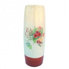 Vaza ceramica cu flori - Psalmi 91:4