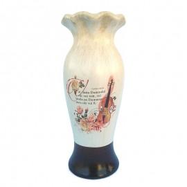 Vaza ceramica vintage - Psalmi 104:33