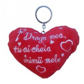 Breloc inima plus (12 cm)