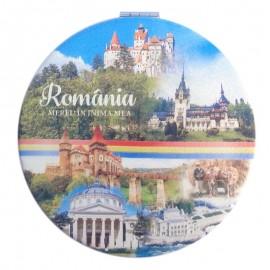 Oglinda de poseta - colaj Romania