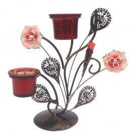 Sfesnic metal flori - 2 pahare