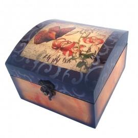Set 2 cutii vintage (16x15)