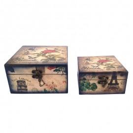 Set 2 cutii vintage (16x23)