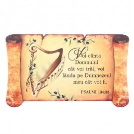Magnet papirus - Psalmi 104:33