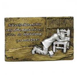 Magnet barbat in rugaciune - Ieremia 29:13