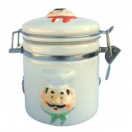 Set ceramica sare/piper - 3 piese