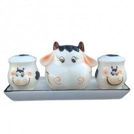 Borcan ceramica - bucatar (13 cm)