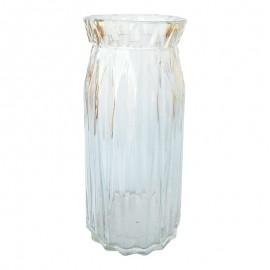 "Vaza sticla - ""creponata"""