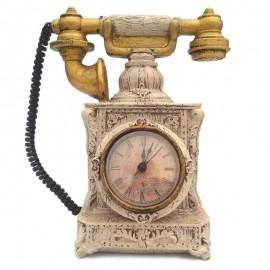 Pusculita - telefon retro cu ceas