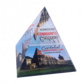 Piramida de sticla - Castelul Huniazilor
