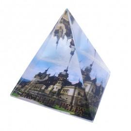 Piramida de sticla - Castelul Peles