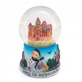 Glob de sticla - Castelul Huniazilor (7 cm)