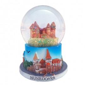 Glob de sticla - Castelul Huniazilor (10 cm)