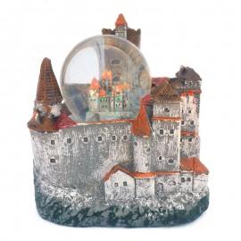 Glob de sticla - Castelul Bran