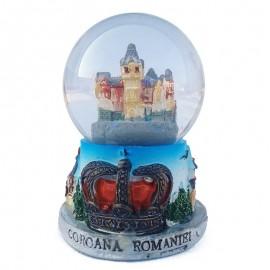 Glob de sticla - Castelul Pelisor (7 cm)
