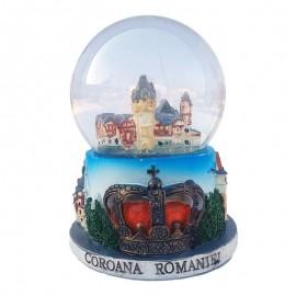 Glob de sticla - Castelul Pelisor (10 cm)