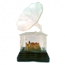 Gramofon transparent - Castelul Corvinilor