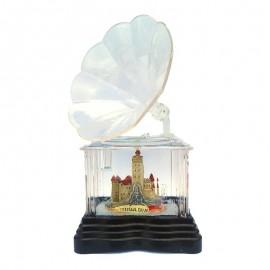 Gramofon transparent - Castelul Bran
