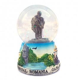 Glob sticla - Baile Herculane (7 cm)
