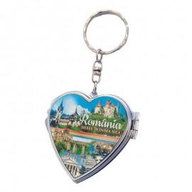 Breloc cu oglinda - Romania