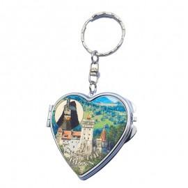 Breloc cu oglinda - Castelul Bran