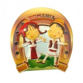 Magnet potcoava - Romania