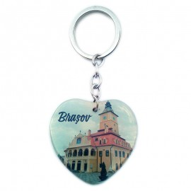 Breloc inima - Brasov