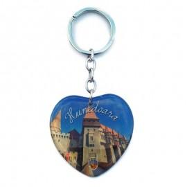 Breloc inima - Castelul Corvinilor