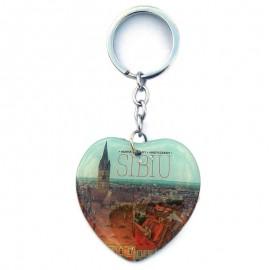 Breloc inima - Sibiu