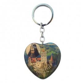 Breloc inima - Castelul Bran