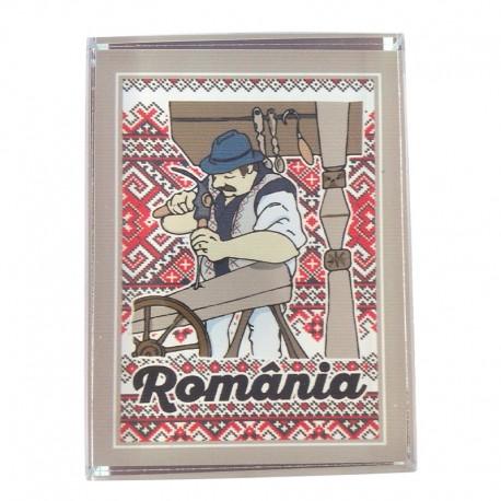 Prisma de sticla - Romania