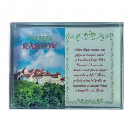 Prisma de sticla - Cetatea Rasnov
