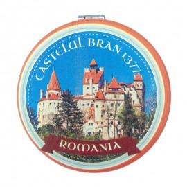 Oglinda de poseta - Castelul Bran