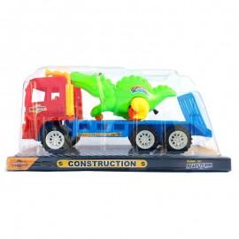 Camion cu dinozaur