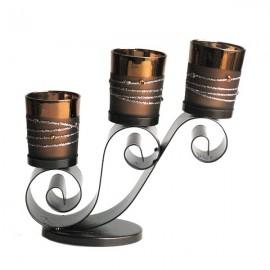 Sfesnic metalic - 3 pahare