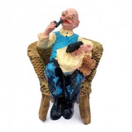 Mos/ baba pe scaun
