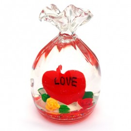 Ornament saculet - I love you