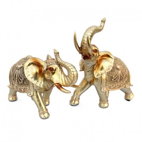Set decorativ - 2 elefanti