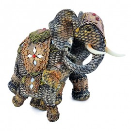 Elefant cu pui (22 cm)
