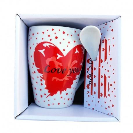 Cana cu lingurita - Love you