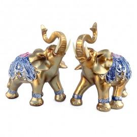 Set elefanti cu pietre si oglinda