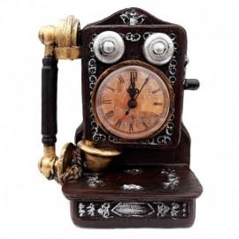 Telefon cu ceas plastic