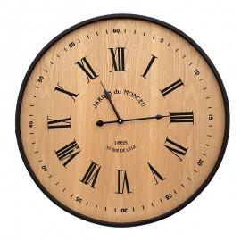 Ceas lemn - cifre romane/ arabe
