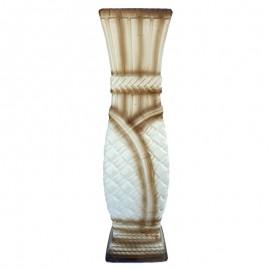 Vaza ceramica cu patratele (60 cm)