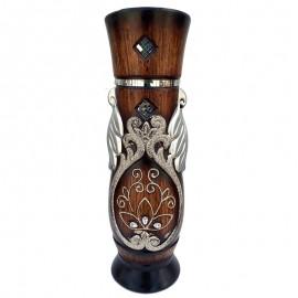 Vaza ceramica - manere frunze (60 cm)