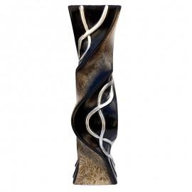 Vaza ceramica rasucita - model lanturi (60 cm)