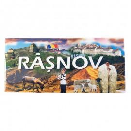 Magnet placuta - Cetatea Rasnov